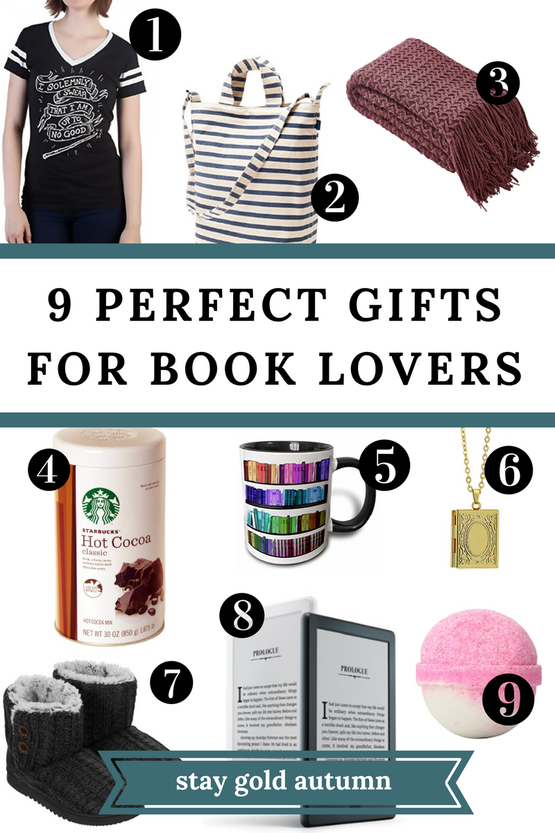 These are 9 great gifts to give to your favorite bookworm who loves all things cozy. Pin now, read later.